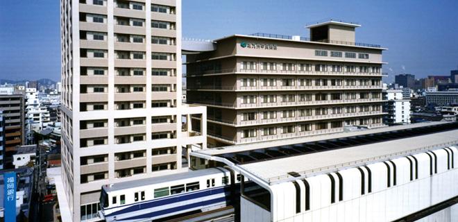 北九州中央病院外観
